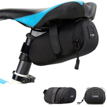 Portable Waterproof Bike Saddle Bag Portable Cycling Seat Pouch Bicycle Tail bags Rear Pannier Cycling equipment osah drypak motorcycle waterproof tail bags multi functional durable rear motorcycle seat bag high capacity waterproof pvc bag
