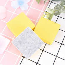 2 шт.% 2Flot Blackboard Whiteboard Cleaner Dry Marker Pen Foam Eraser Chalk Brushs Yellow 5.2% 2A5.2% 2A2CM