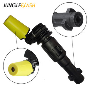 Image 2 - Rotating Dirt Shock Turbo Nozzle 360° Gimbaled Spin High Pressure Cleaner Spray Nozzle Tips Fit For Karcher Trigger Guns
