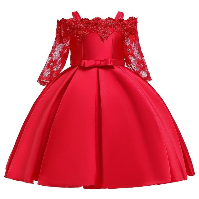 Bambini-Vestiti-Per-Le-Ragazze-Elegante-Abito-Da-Principessa-Di-Natale-Per-Bambini-Da-Sera-Del