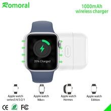 [Обновление] для беспроводного зарядного устройства Apple Watch, портативное магнитное зарядное устройство iWatch для путешествий на открытом воздухе, для Apple Watch серии 12345