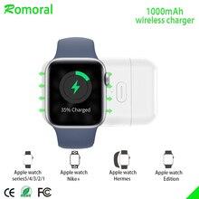 【Upgraded】para cargador inalámbrico de Apple Watch, cargador iWatch magnético portátil para viajes al aire libre, para Apple Watch Series 12345