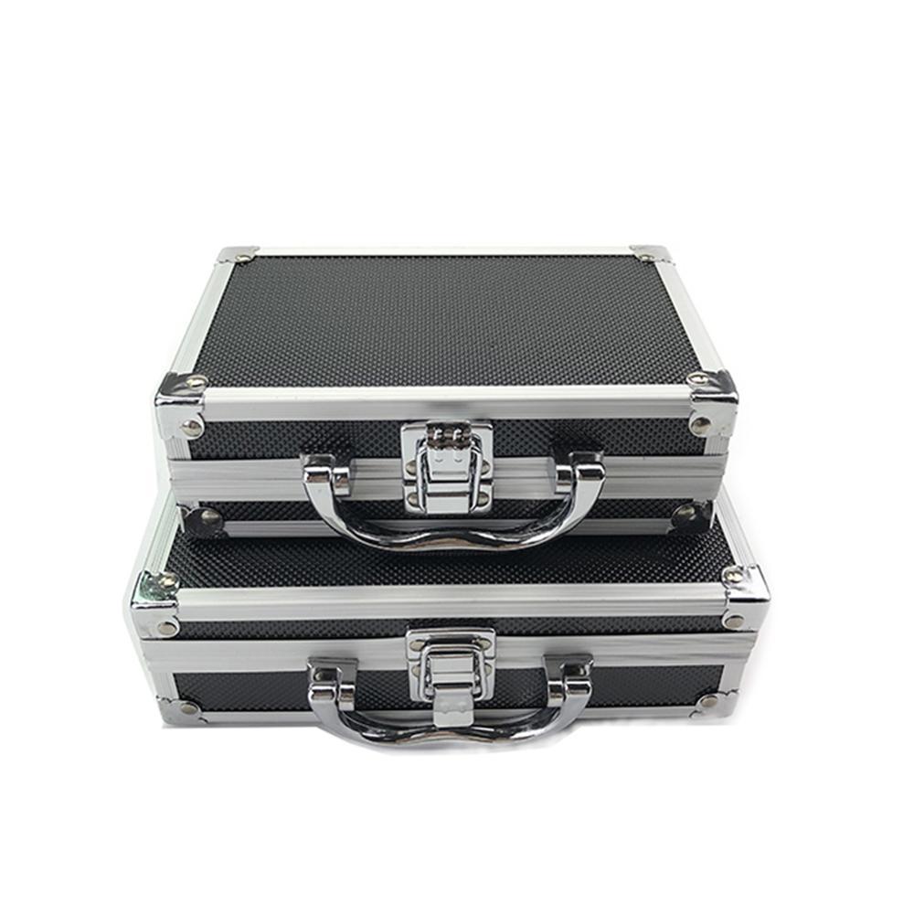 Car Tool Box Maintenance Equipment Safety Storage Suitcase Hardware Auto Repair Portable Organizer Aluminum Alloy + ABS Toolbox