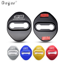 Ceyes Car Accessories Auto Door Lock Covers Case For Honda Mugen Power Typer Civic Accord CRV Auto Decorate Stickers Car Styling