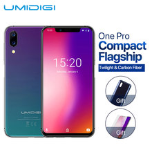 "UMIDIGI One Pro bande globale 4GB 64GB 5.9 ""Android 8.1 téléphone portable sans fil charge P23 Octa Core smartphone NFC12MP + 5MP double 4G(China)"