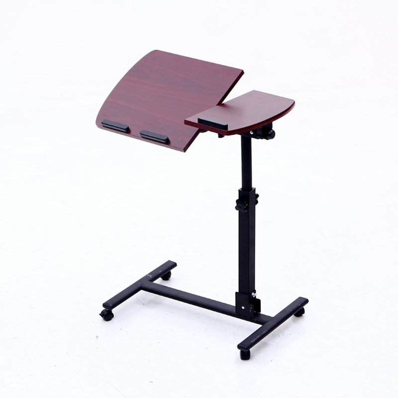 Home lazy bed laptop desk removable lifting folding simple  bedside small table rotation