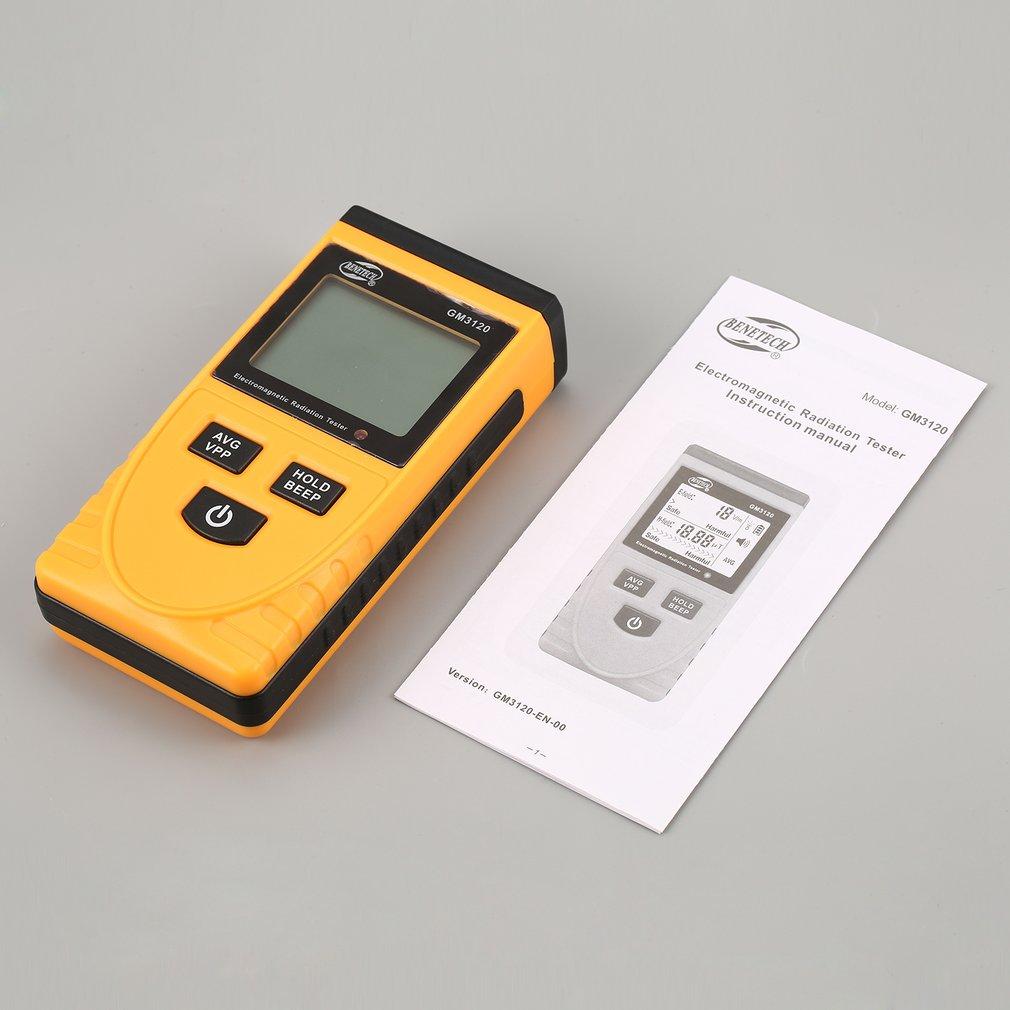 GM3120 LCD Digital Electromagnetic Radiation Detector Meter Dosimeter Tester Counter For Computer Phone TV
