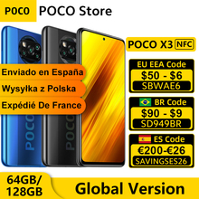 POCO 64GB 6GB LTE/GSM/WCDMA NFC Quick Charge 3.0 Octa Core Side-Mounted 64MP New Quad-Camera