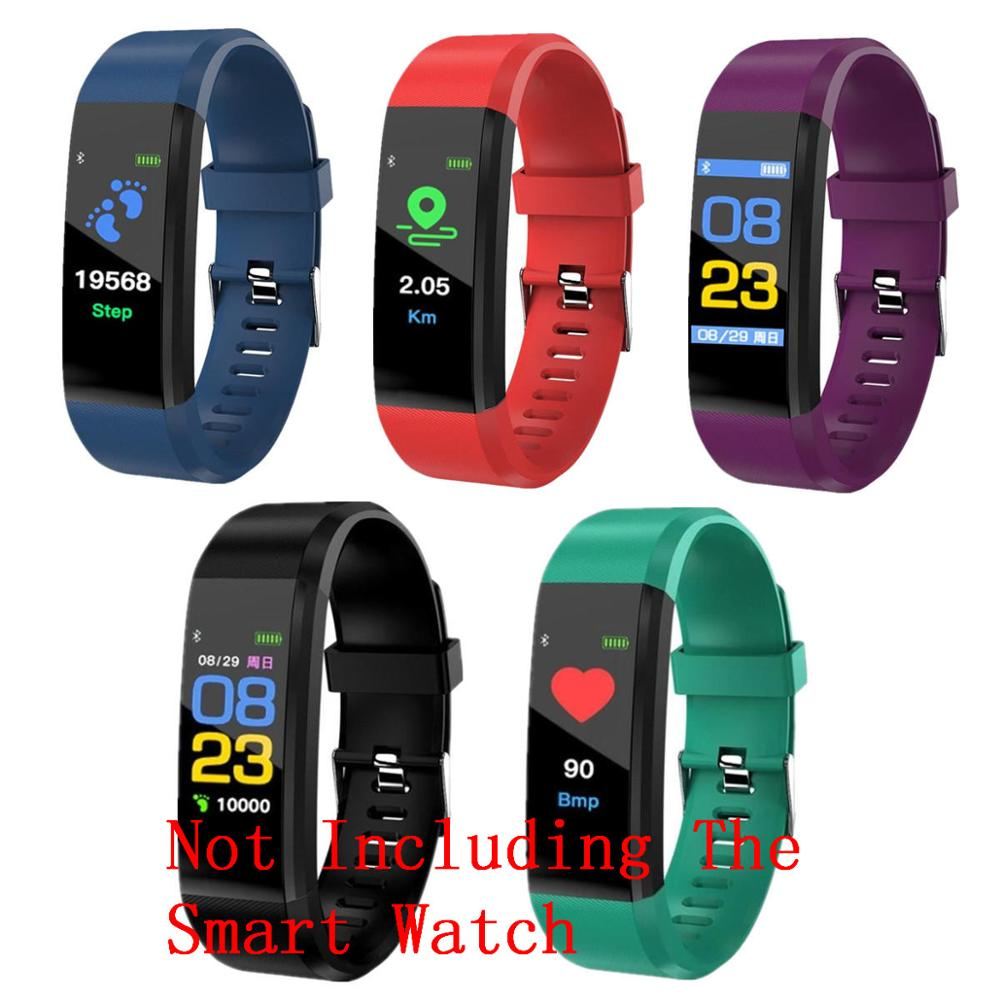 New Silicone Smart Bracelet Wristband without watch 5colors Fashion Life Waterproof Watch Straps Suitable For XANES