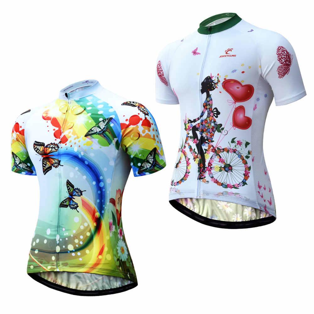 Frauen Radfahren Men Cycling Jersey Bike Kurzarm Fahrrad Kleidung Shirt Tops