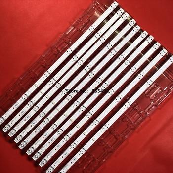 1set=10pcs led Backlight strip for Sony 55