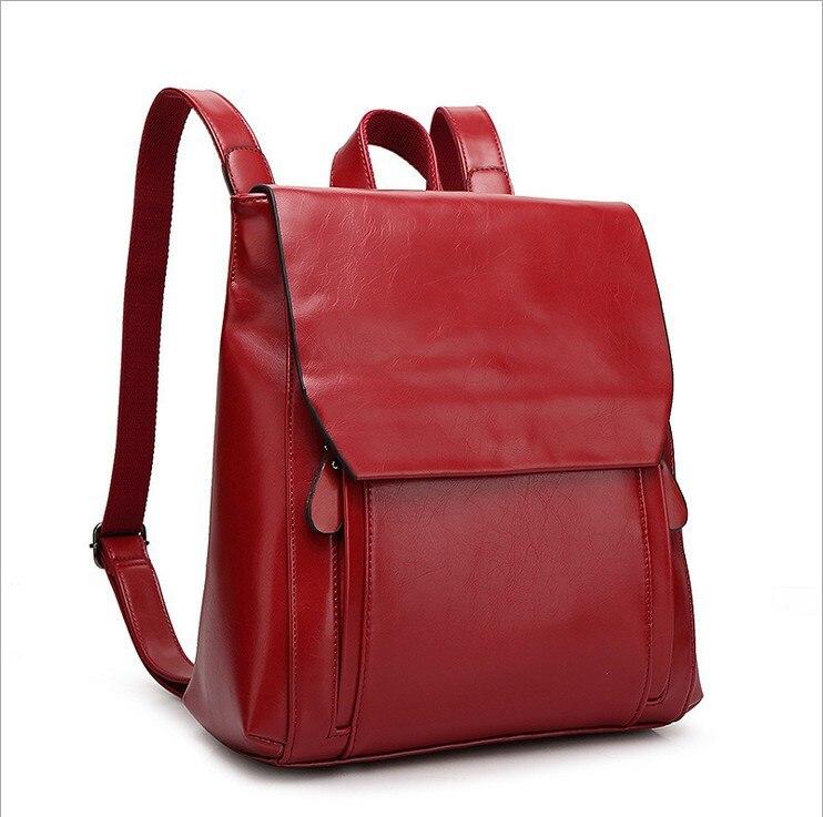 Travel Backpack Women Genuine Leather School Bags For Teenage Girls School Backpack Shoulder Bag Large Capacity Knapsack C1161