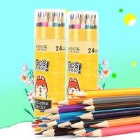 Soonye цветной карандаш маслянистый цвет свинец студентов детский сад граффити живопись набор Дети заполняют тонкой художественной щёткой