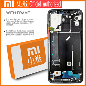 Image 5 - Original 6.21 Amoled Display with frame for Xiaomi MI8 Mi 8 Global LCD Touch Screen Digitizer Assembly Replacement Parts