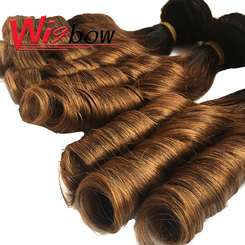 Bouncy Curly Hair Bundles With Closure Double Drawn Hair s  Curly Hair With Middle Part Closure 6