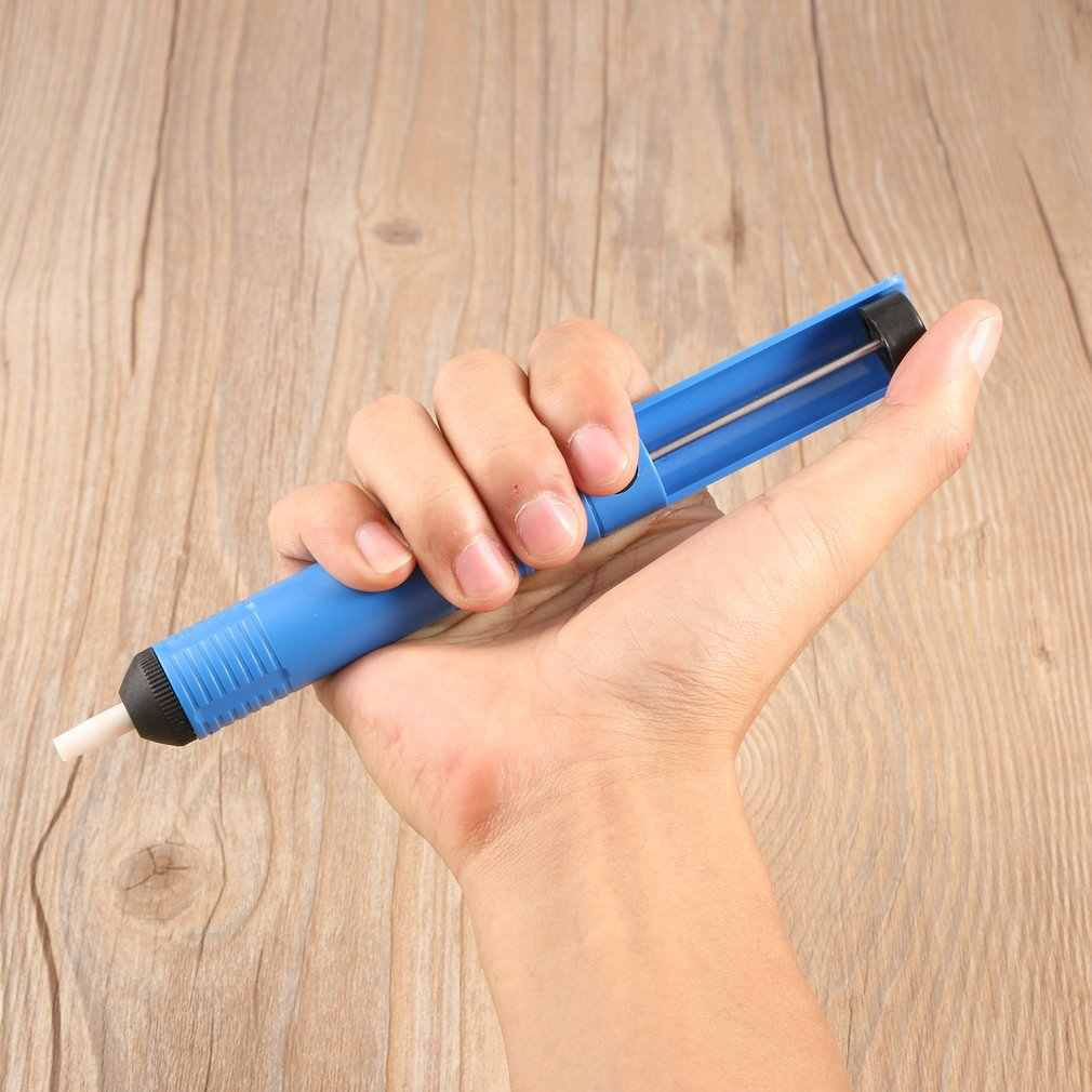 1 Pcs Blue Daya Hisap Tinggi Logam Solder Solder Sucker Desoldering Pompa Alat Penghapusan Vakum Solder Desolder Top Dijual