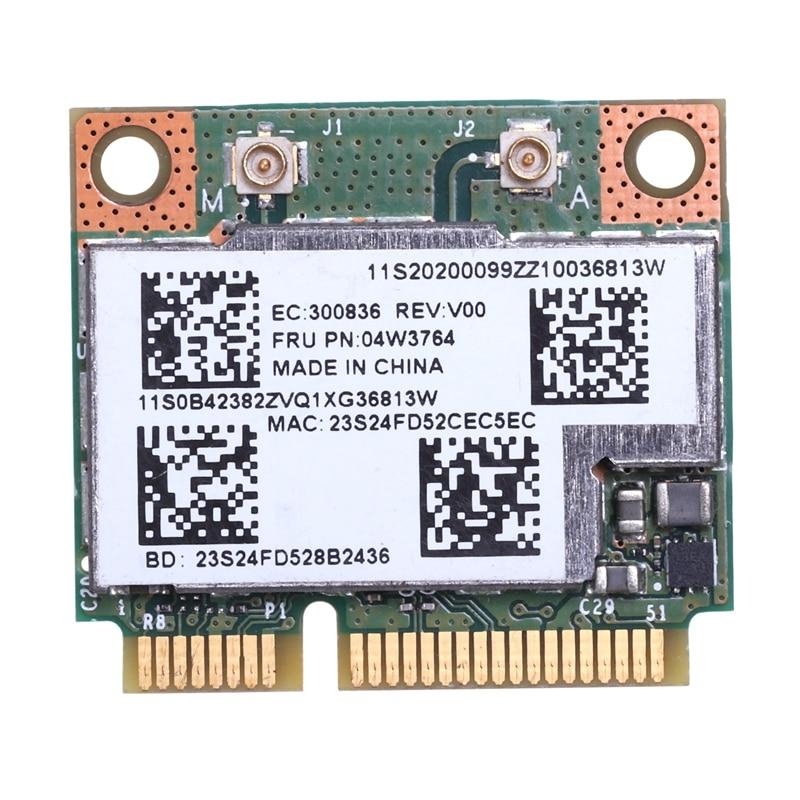 BCM943228HMB Dual Band WIFI Wireless Bluetooth 4.0 MINI PCI-E Card For IBM Lenovo E430 E431