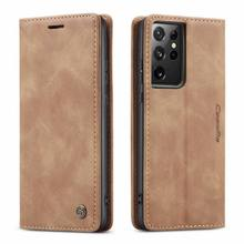 Flip Case For Samsung Galaxy S21 s20 ULTRA S7 edge s8 s9 s10 e s20FE 4g 5g PLUS Etui Luxury Leather Phone Cover shell Coque bag
