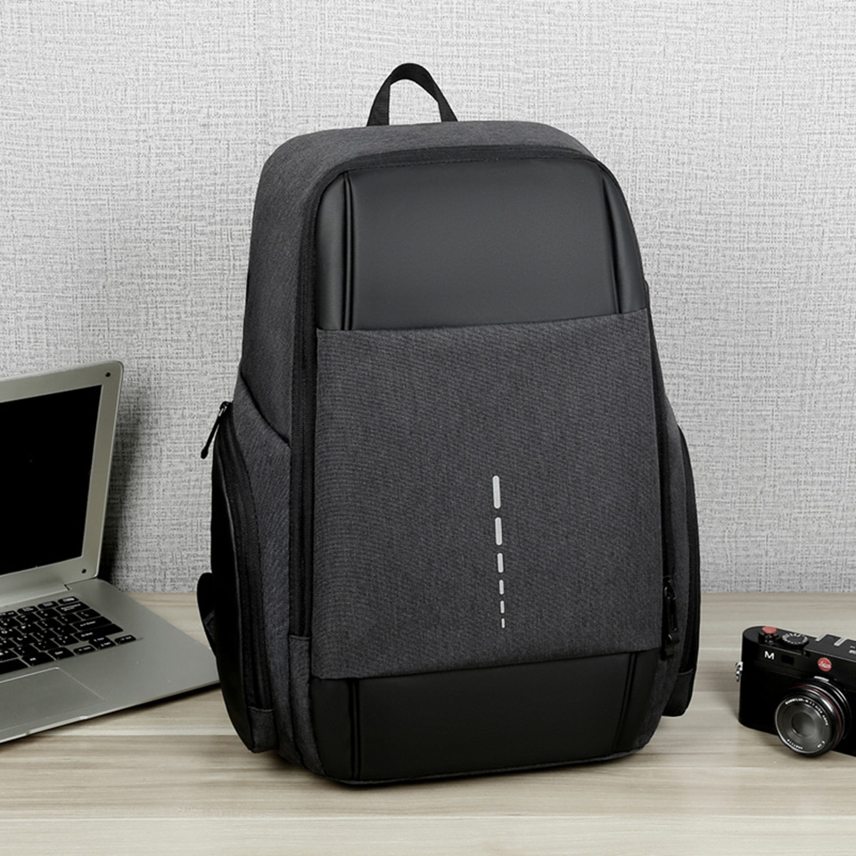 School Bagpack Men Backpack Boys Casual University College Student Backpacks Male 15.6 Laptop Notebook Waterproof Smart Bag Pack