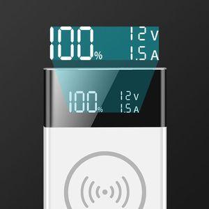 Image 4 - 6X18650แบตเตอรี่ DIY Qi Wireless Charger QC3.0 USB Type C PD Fast Charge Power Bank เคสกล่องสำหรับโทรศัพท์มือถือแท็บเล็ต