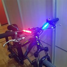 Światło rowerowe wodoodporne tylne światło LED USB akumulator rower górski światło rowerowe Taillamp ostrzeżenie o bezpieczeństwie światło TSLM2 tanie tanio Aubtec NONE CN (pochodzenie) SW321316516541654 FRAME Baterii Support 2019 Bike Light Warning Waterproof super bright Rechargeable