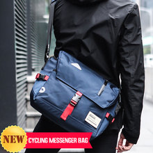 New Fashion Men Crossbody Messenger Bag Fashion Cycling Sling Shoulder Chest Bag For Male Large Waterproof Oxford Travel Mochila aoking new fashion lightweight leisure crossbody bag for men travel messenger shoulder bag sling bag with reflective strip