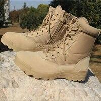 Fashion Men Boots Men Desert Tactical Military Boots Outdoor Breathable Men Hiking Shoes Plus Size Desert Boots C22 85