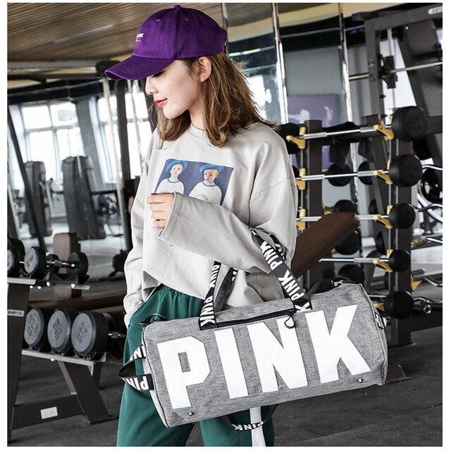 PINK Gym Bag  3
