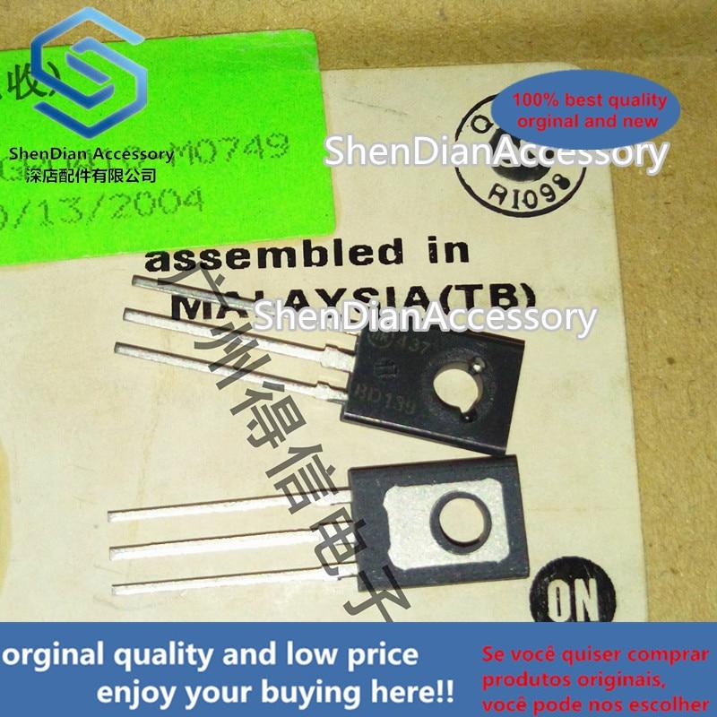 10pcs 100% Orginal New  BD139 139 TO-126 NPN Power Transistors  Real Photo