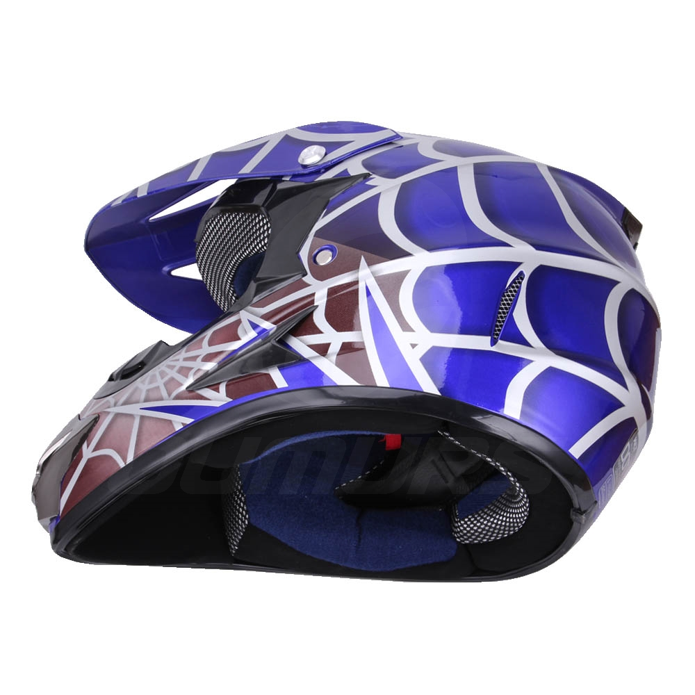 OUMURS DOT Cool Web Style Motorcycle Children Helmet 11