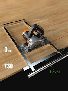 Trimmer Cutting-Board-Tool Machine-Edge-Guide Circular Saw Woodworking Electricity Positioning