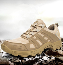 купить Men Hiking Shoes Man Sport Shoes Outdoor Jogging Male Non-Slip Trekking Sneakers Non-slip Wear-resistant Travel Shoes дешево