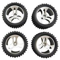4Pcs Wheels for Wltoys A959 A959 01 Accessories Rc Car Spare Parts|Parts & Accessories| |  -