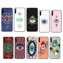 BaweiTE Evil Eye case coque fundas etui for xiaomi note max mi 3 7 8 9se Redmi 7 7a 8 8t 10 pro lite cases cover(China)