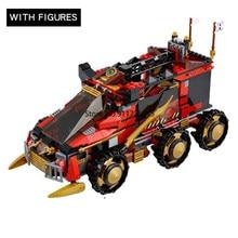 70750 DB X Mobile Command Center 758 Pcs Bricks Model Building Blocks Boys Gifts Toys For Children