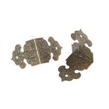 12pcs Decorativo Angolo Staffa per mobili Scatola Di Legno Piedi Mobili Angolo Protector Decorativo Mensola Accessori Per Mobili