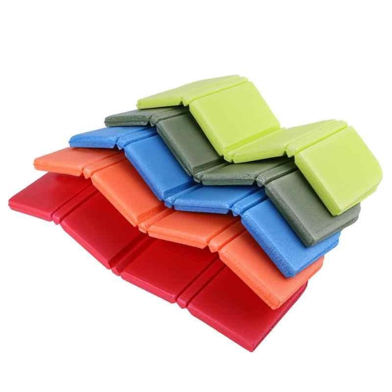 Xpe 실용 방수 좌석 쿠션 8 색 캠핑 피크닉에 대 한 가방과 휴대용 접는 습기 방지 좌석 매트
