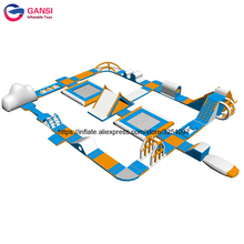 Giant Inflatable Type Water Playground Inflatable Water Park with Swimming Pool giant inflatable flower with glasses for outdoor park decorations