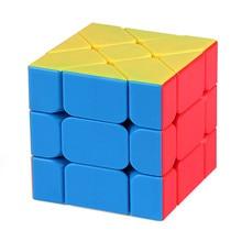Moyu Mofangjiaoshi Puzzel 3X3X3 Magic Speed Fisher Cube Yongjun Leren Onderwijs Speelgoed Voor Kinderen Kids Cubo magico
