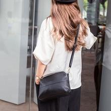 Luxus Echtem Leder Kupplung Taschen frauen Handtaschen Mode Schulter Umhängetaschen für Frauen Umhängetasche Tote Shell Geldbörse