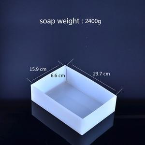 Image 2 - 사각형 실리콘 비누 금형 손수 만든 Tost 로프 금형에 대 한 나무 상자