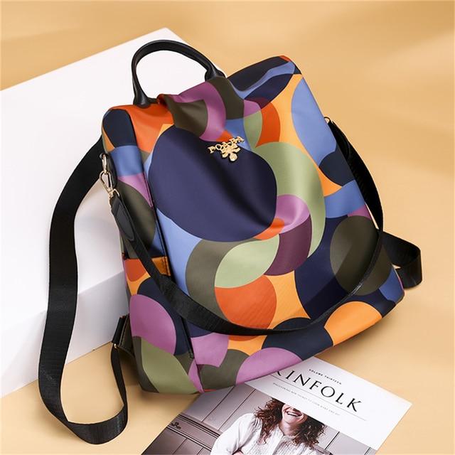 Colorful Large Shoulder Backpack 28