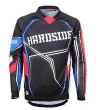 2019 Mens Long Sleeve Motocross Jersey Element Racewear Dirt Bike Moto Apparel Jerseys Quick Dry MTB MX DH ATV Cycling jersey