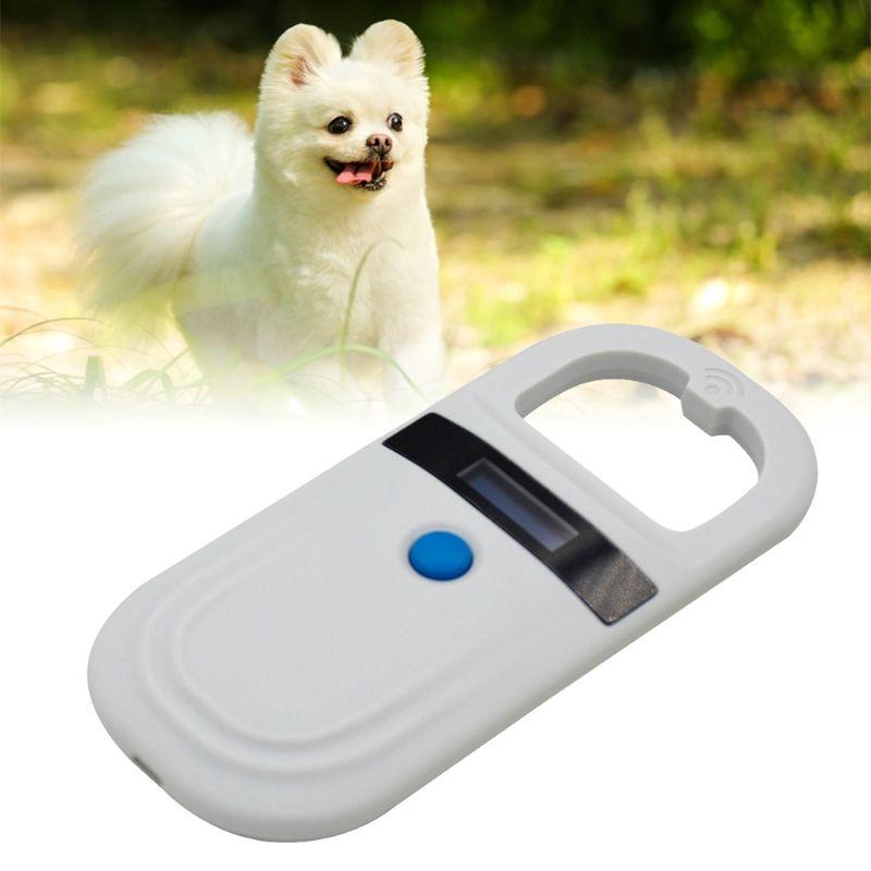 Animal Identification Chip Code Scanner Pet Dog ID Electronic Reader Transponder