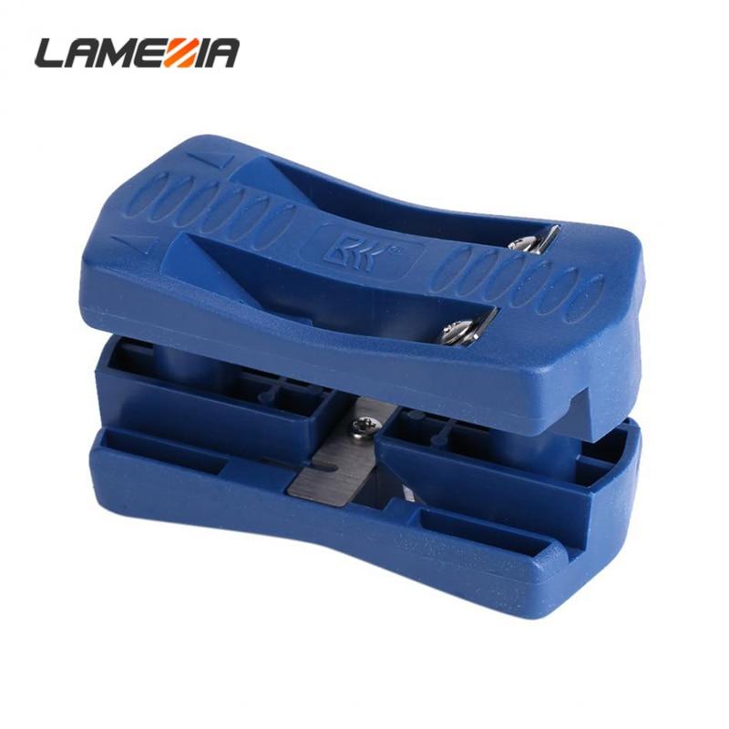 LAMEZIA Edgebanding Machine Double Edge Trimmer Wood Banding Guide Finishing Tool Carpenter Hardware For Woodworking