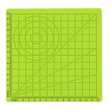 Kids Children Tools Educational With 2 Finger Caps 3D Pen Accessory Silicone Mat Drawing Board Template Green(China)
