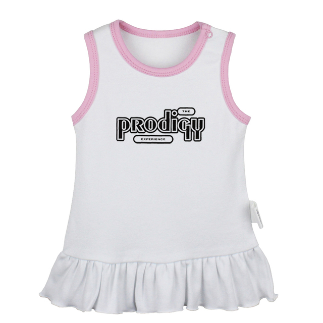 Rock Band ACDC Design Newborn Baby Girl Dress Toddler Infant 100/% Cotton Clothes