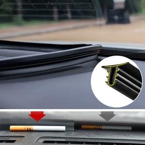 Image 1 - 1.6M 자동차 앞 유리 대시 보드 방음 씰 씰링 고무 스트립 자동 소음 방음 씰 테이프 액세서리 인테리어