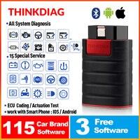 ThinkDiag OBD2 Code Reader All System obdii Diagnostic Tool 15 Reset Services Think Diag Scanner pk X431 Easydiag 3.0 AP200 golo