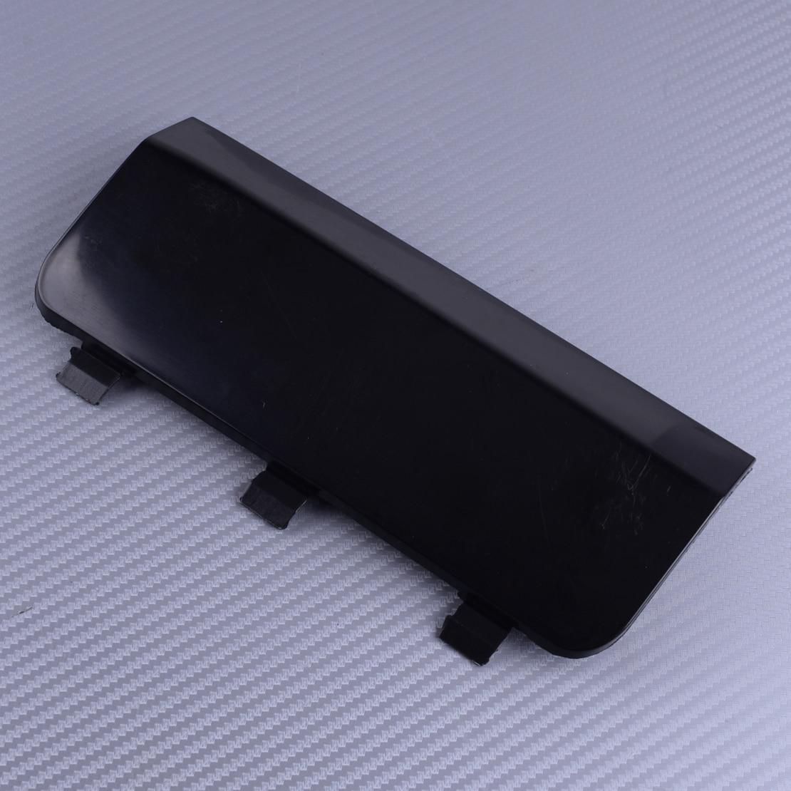 DWCX arka sol tampon Tow kanca kapatma başlığı siyah A1638801605 Mercedes için ML320 ML350 ML430 ML500 1998-2002 2003 2004 2005